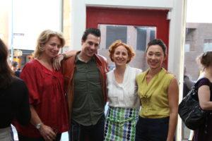 Lucinda, Johnny, Sarah and Shira.