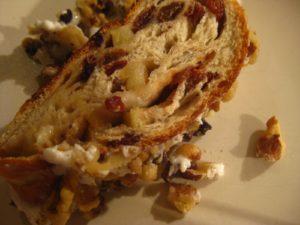 Ashley Frejlich from Hallandale Beach, FL baked apple strudel using my recipe.