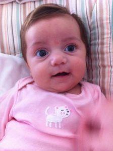 Olivia, 4 months old