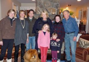 Our last stop was at Kathy's newly renovated home - Abigail Davenport, Erin Sloane, Patrick Sloane, GK, Me, Sloane Davenport, Charlie Davenport, kathy Sloane, Harvey Sloane