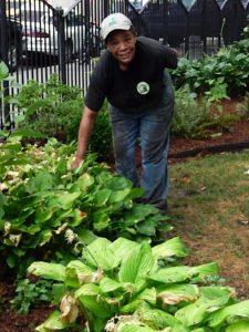 Malinda is proud of this garden!