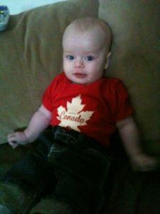 Quinn, 4 1/2 months old