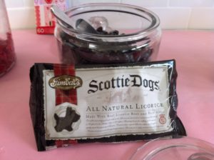 These adorable Scottie Dogs are handcrafted with real licorice root and pure anise.