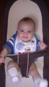 Jordan, 5 months old