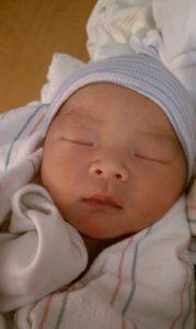 Nathan Rhee. 16 days old