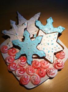 Susan Pierson Brown from Seattle, WA baked two of my cookie recipes - gingerbread and peppermint meringues.