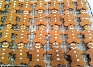 Joseph made gingerbread men, too.