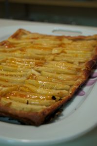 Stella Singleton from Chandler, AZ baked the Rustic Apple Tart from my Everyday Food cookbook. She is baking it again for her Christmas breakfast.