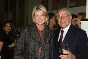 And here I am with the incomparable Tony Bennett - one of the 2010 Sing for Hope honorees.   Photo Credit - Linda Lenzi