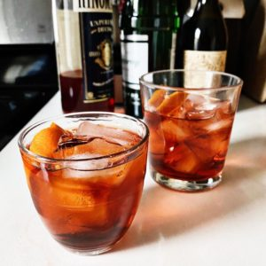 For cocktails, Shira shares her favorite Negroni-inspired drink made with gin, an aperitivo like Campari, and sweet vermouth - garnished with an orange twist. Some of you have already tried this drink and love it!