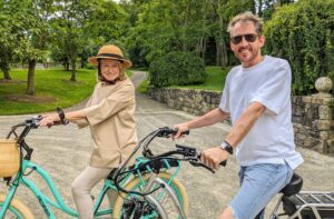 Kevin and I had a wonderful ride. I can't wait to ride my bike in Maine and in East Hampton. I hope you're able to get in some good exercise during this pandemic. Stay safe and healthy.
