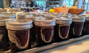 Making jam is so easy and so flavorful. I hope this inspires you to make some of your own this weekend! Enjoy!