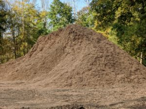 """The result - a dark and rich compost I like to call """"black gold."""""""
