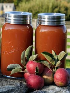 Pure, fresh apple cider made from crisp, sweet, organic fruits - it is so refreshing.