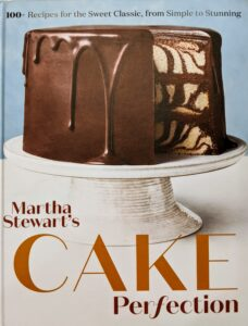 """I am so proud of this book, """"Martha Stewart's Cake Perfection: 100+ Recipes for the Sweet Classic, from Simple to Stunning"""" from Clarkson Potter. In one's lifetime, there are so many occasions that call for celebration or """"something special"""" – birthdays, anniversaries, graduations, engagements, weddings, showers, new jobs, retirements, and more. A homemade, home-baked, and hand-decorated cake somehow makes these events feel even more joyful. This class was a great way to showcase some of the wonderful cakes, ideas, and baking techniques from the book."""