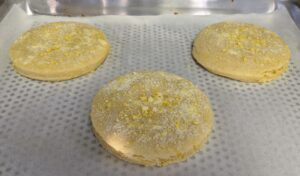 A big favorite is his Lemon Chiffon Cream cookie which incorporates lemon in four separate ways - using zest, juice, oil and extract. It also has lemon cream filling and lemon glaze with mimosa sugar. Robert says his cookies are packed with ingredients - if it's a lemon cookie, it will have lots of lemon, and if it's a chocolate cookie, it will include lots of pure and delicious chocolate.