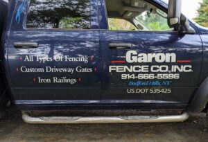 We used the team from Garon Fence Co. This company also put up my pigeon and peafowl fence earlier this year.