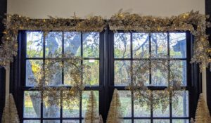 I also offer a Pre-Lit Fern Garland that looks great over the wreath adorned windows, or along the mantel. So many ideas to brighten up your holiday season. We had so much fun talking about these holiday decorations. I hope you visit the web site to see more of my new offerings.