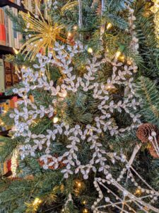 """Add more """"bling"""" to your tree with this 12-inch gemmed Snowflake Ornament. This gemmed snowflake ornament has an attached ribbon for easy hanging."""