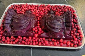 I love using them so much, I made these cranberry sauce turkeys too. I hope you caught the class yesterday, but if you didn't make it, be sure to join our next class on December 10th. Have a wonderful Thanksgiving.