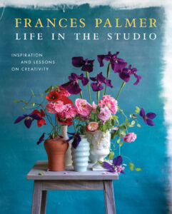 """Life in the Studio"" is by Frances Palmer. I've known Frances for years - she is a renowned potter, gardener, photographer, and entrepreneur. I was so happy to open this book and see all the gorgeous photographs - most of which were taken by Frances herself. This book is about a lovely and unique artist, her passions, her expertise, and her best lessons for living a creative life. (Photo by Frances Palmer)"