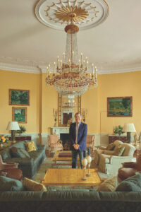 Here is Michael standing in the Yellow Oval Room of the White House. This book is for anyone who appreciates the art of decorating - design enthusiasts, political aficionados, and students of Americana, and more. It is an extraordinary book showing Michael's collaboration with President and First Lady Obama on decorating the White House, one of the most celebrated residences of the United States. (Photo by Michael Mundy)