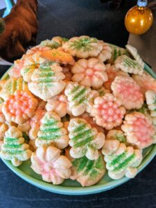 Some cookies were as small as coins while others spanned seven inches across - there was something for everyone. And guests were encouraged to take a bag home with them to enjoy later.