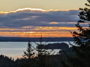 Here is another - looking out onto Seal Harbor.