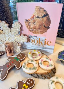"In ""Martha Stewart's Cookie Perfection"" there are tons of tips and ideas to make all those favorite go-to cookies even better. It introduces new flavors, textures, and techniques, and incorporates equipment that isn't traditionally used for making cookies."