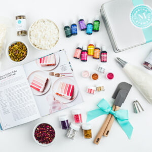 """As another gift option, get Martha Stewart """"Cake Perfection"""" and Cookie Decorating Gift Set exclusively created for iGourmet. This set includes personally hand-picked favorite baking essentials. It's great for both experienced and first-time bakers."""