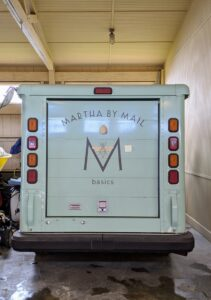 Finally, do you recognize this? The Martha by Mail truck was a postal delivery truck from the 80s, which I bought years ago and had painted green. The Equipment Barn is clean and organized once again. What organizing goals do you have for the new year? Share them with me in the section below. Here's to a better 2021 for all of us!