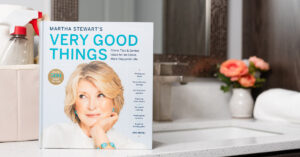 I know you will love this compendium of helpful, practical home and life hints. Buy a copy today at MarthaStewartGoodThings.com.
