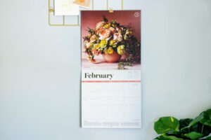 """If you haven't already gotten your 2021 calendar, this one features 13 full-color photos of spectacular blooms and arrangements with accompanying information taken from my """"Martha's Flowers"""" book - it's great for gardeners, or anyone looking forward to all those pretty blossoms of spring and summer. It's available at my shop on Amazon."""