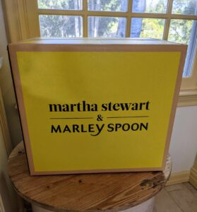 Also for the new year, don't forget Martha Stewart & Marley Spoon - make a fresh start with our weekly meal plan kits specifically created to help make dinners fast, easy, healthy and most of all, delicious.