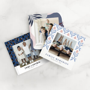 My Mixbook photo books and calendars are the perfect way to start the year filled with good memories. Customize your family photos with Martha patterns and designs.