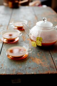 Here's another popular one - earl grey tea and apple cider. By steeping the floral tea in the warm, fruity cider, you'll bring out the best of both flavors.
