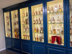 Justins' House of Bourbon has the largest collection of vintage bourbon for sale in the world.