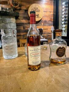 Van Winkle Special Reserve is part of the wheated Pappy bourbon family. It is just as soft and as smooth as it is hard to find.