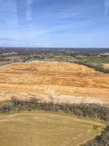 During my brief trip, I also visited the sites of AppHarvest's future farms, including a 60-acre facility being built outside Richmond, Kentucky, and a 15-acre leafy greens facility under construction in Berea, Kentucky.