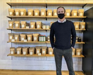 And here's owner, Rick Mast - of course, we were all masked and safely distanced. It was a lovely tour. If you're ever in the area, stop in to Mast... and indulge. You'll love it.