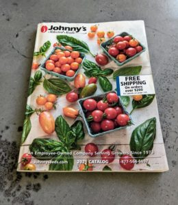 If you love gardening as much as I do, get a copy of Johnny's Selected Seeds catalogs. I discovered Johnny's years ago and have been using their seeds, plants, and tools ever since. Johnny's provides practical solutions for both the home gardener and the professional farmer and uses the expertise from great horticultural masters such as Eliot Coleman. What seeds are you starting? it's such an exciting - we'll all be out in the gardens before we know it.