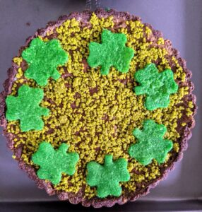 Here's a closer look at one of the tarts.