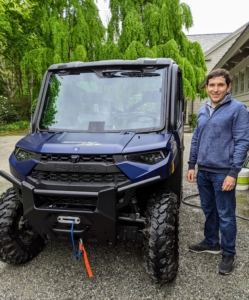 My Ranger XP 1000 is now all clean and ready to tour the farm again. Thanks, Andres - it looks great.