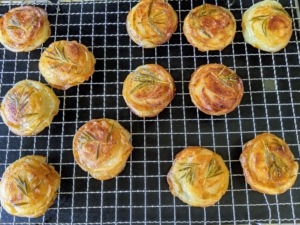 Pommes Anna, or Anna potatoes, is a classic French dish of sliced, layered potatoes cooked in a very large amount of clarified butter. The potatoes are peeled and sliced very thin and then placed into small ramekins or muffin cups for baking.
