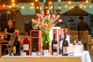 Here is another selection of rare wines up for auction. (Photo by Gabe Palacio for Caramoor)