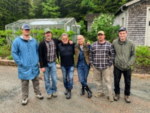 Here's a photo of Carlos with my gardeners and outdoor grounds crew up at Skylands - Porter, Mike, Carlos, Wendy, Rick, and Peter.
