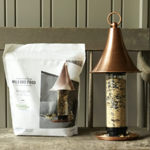 Feed your visiting feathered friends with Martha Stewart Premium Bird Seed. The mix includes black oil sunflower seeds (high in fat and rich in oil) and millet - also available on Martha.com.