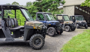 I have several Polaris vehicles here at the farm. They're all used every single day for doing a myriad of chores from carrying bountiful harvests from the vegetable garden to towing my 30-gallon sprayer to plowing the carriage roads in winter.
