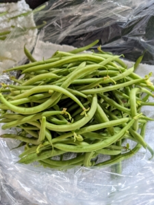 And don't forget our bounty of beans. Beans grow best in full sun and moist soil. Here in the Northeast, we've had both, so the beans are plentiful.