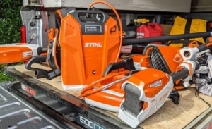 Not long ago, STIHL delivered a handful of tools we needed for different tasks here at my farm – some are battery operated and others are gas-powered.